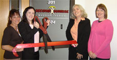 Ribbon Cutting Ceremony at Second Sunrise Massage
